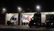 Fedex-Laster beginnen mit Auslieferung des Biontech-Impfstoffs