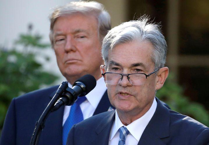 Trump und Fed-Chef Powell