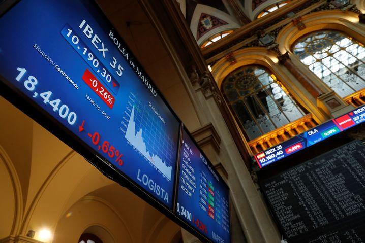 Börse in Madrid