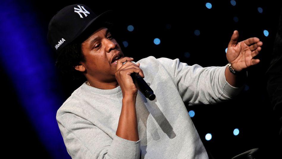 """Ein australischer Händler hat Textzeilen von Jay-Zs Song """"99 Problems"""" ungefragt in einem Kinderbuch verwendet. Die Anwälte des Rappers haben Klage eingereicht."""