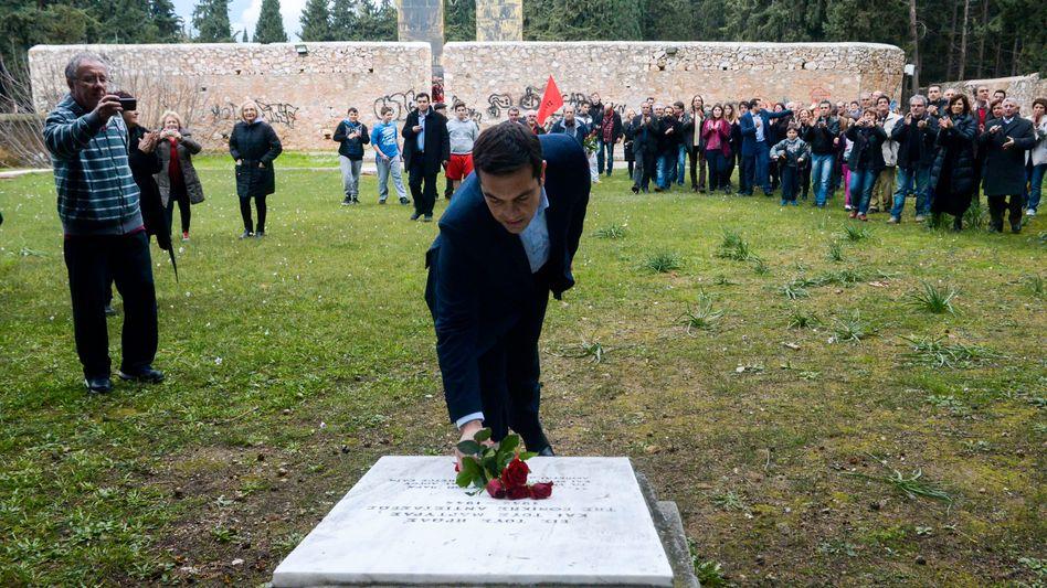 Premier Tsipras an Mahnmal für Nazi-Opfer: Alte Rechnungen aufgemacht