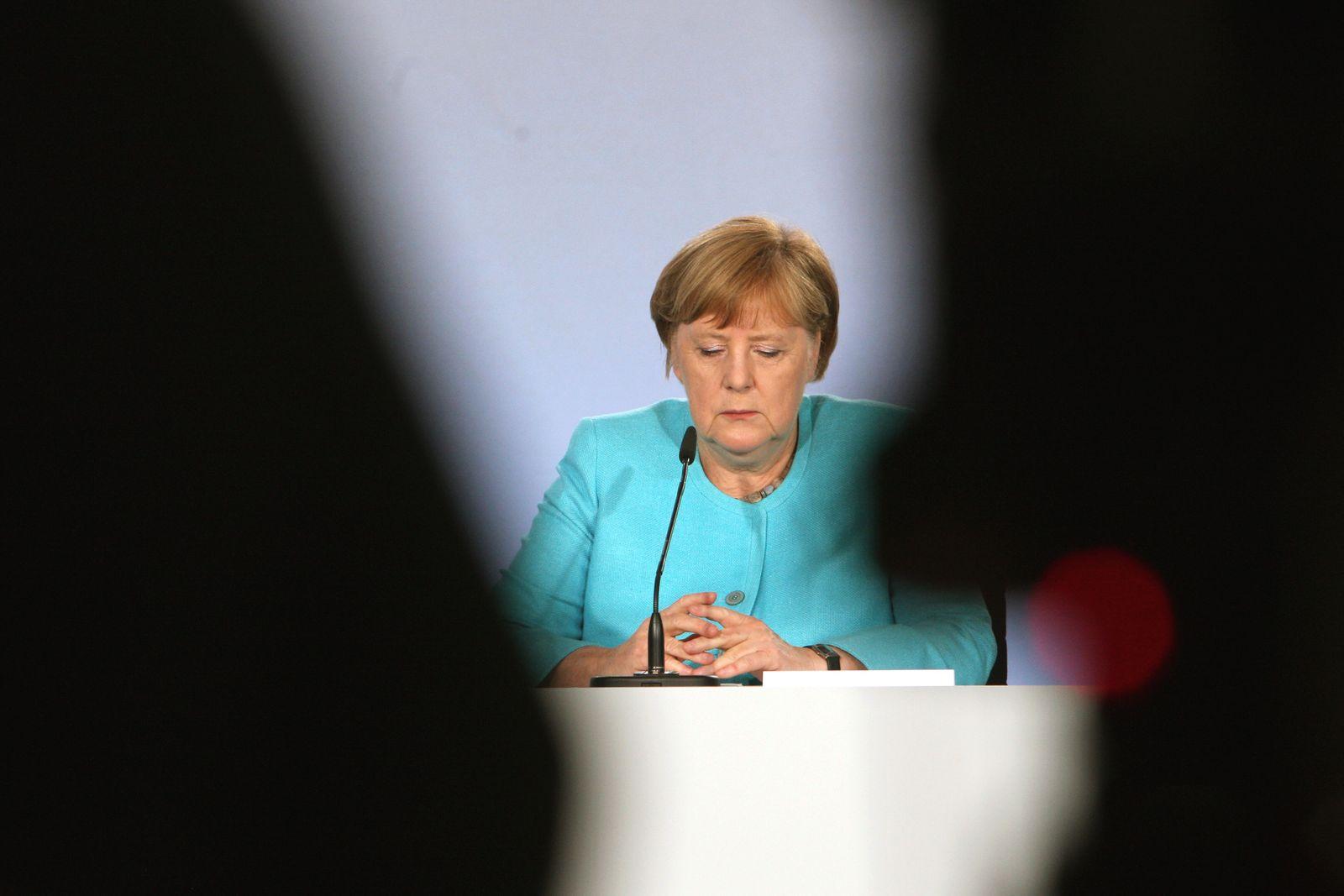 Coalition present their stimulus package during Coronavirus crisis in Berlin, Germany - 03 Jun 2020