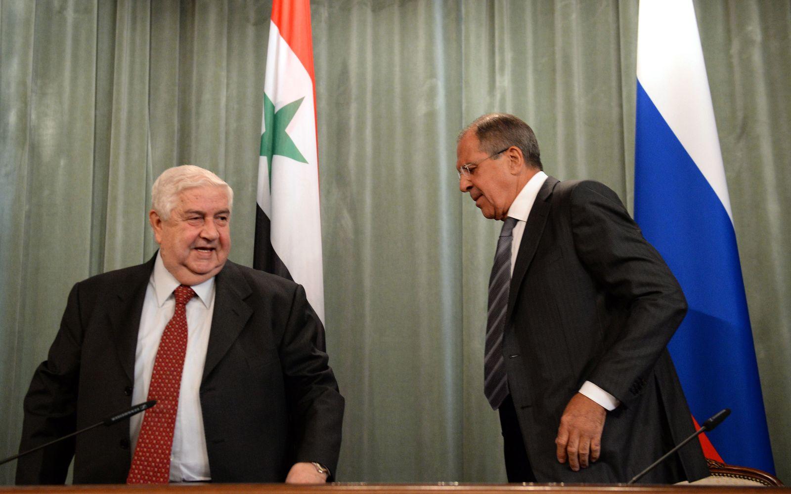 Lawrow / Walid Muallem
