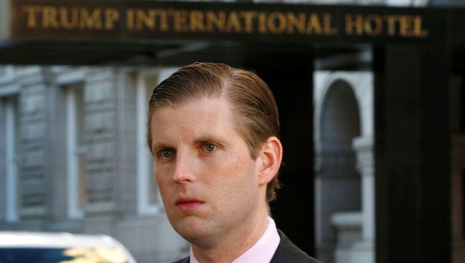 Eric Trump als Statthalter seines Vaters im Konzern