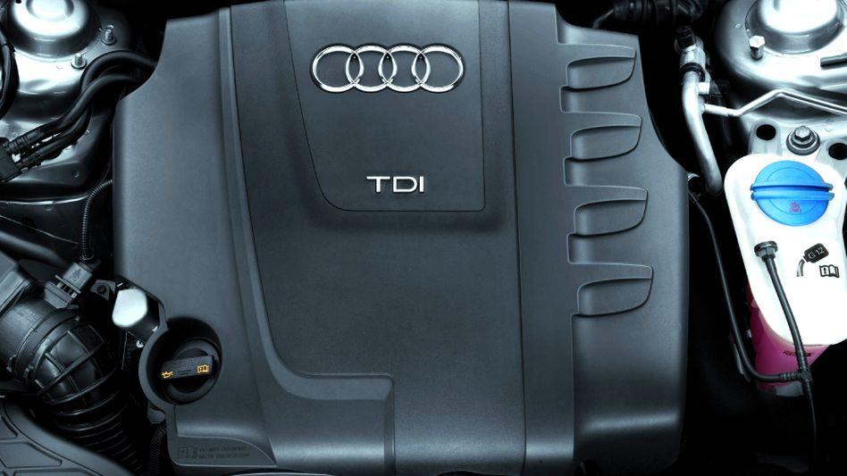 Audi: Schnelle Motoren für derzeit mäßige Fußballer