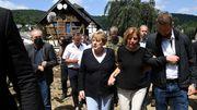 Merkel besucht Katastrophengebiete