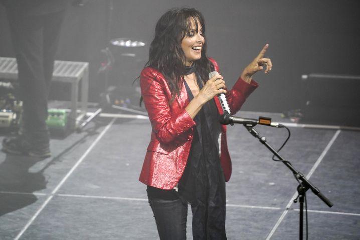 Nena in der Kölner Lanxess Arena