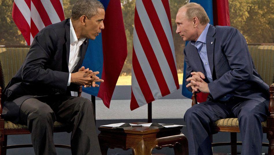 Obama und Putin (Archivaufnahme): Anruf in Saudi-Arabien