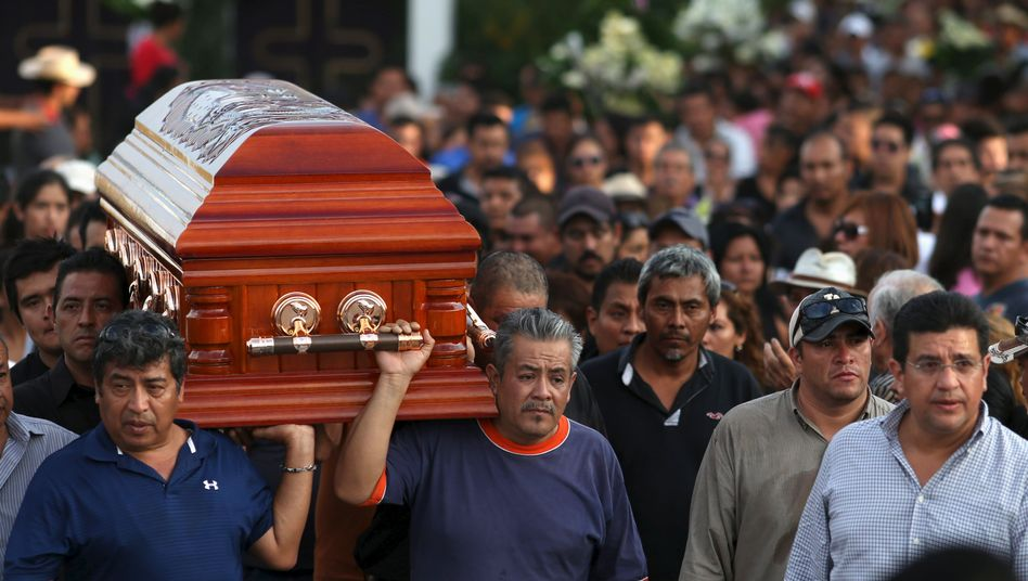 Sarg Gisela Motas: Bischof sieht in Mord Warnung der Drogenkartelle