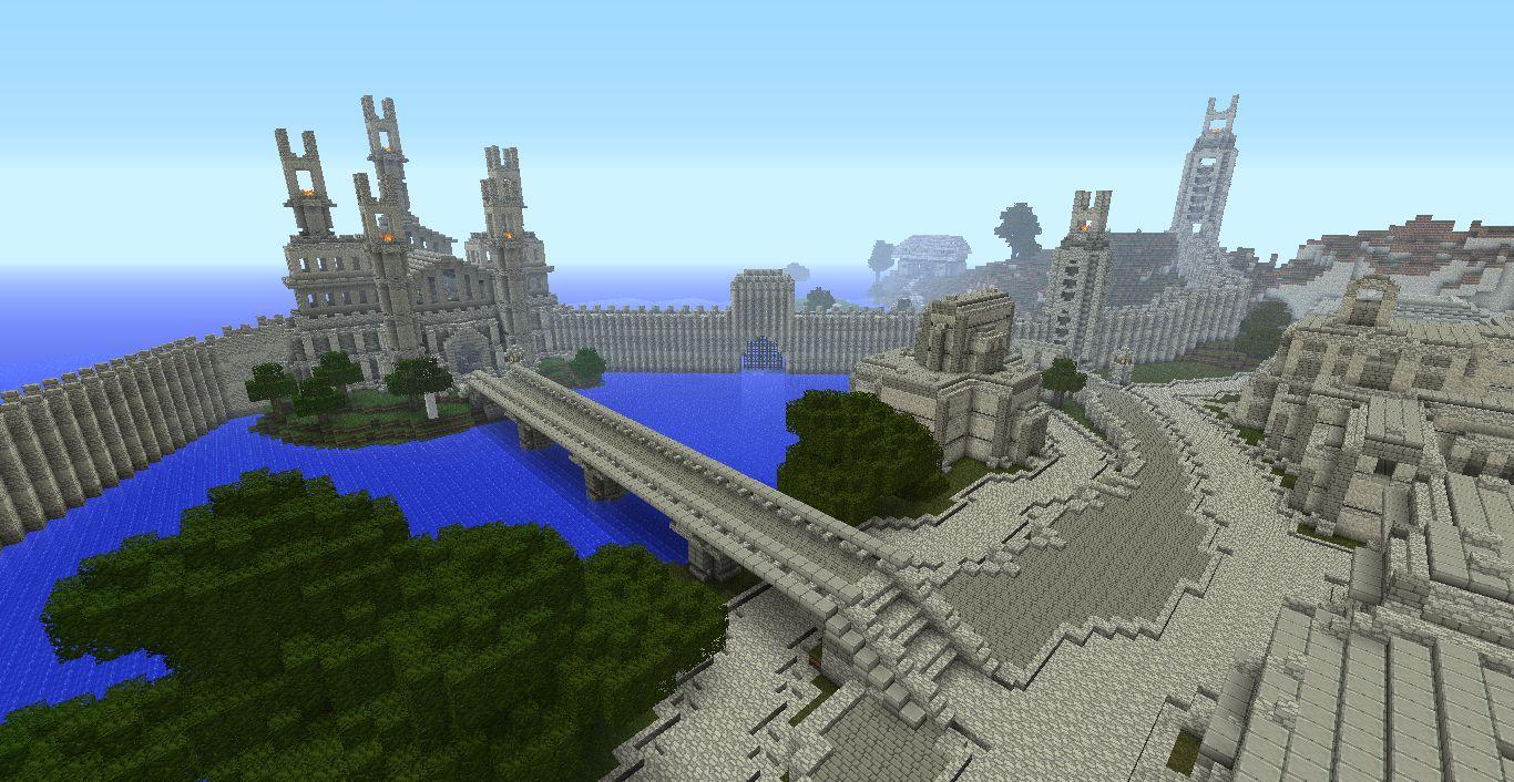 SCREENSHOT Minecraft Middle Earth / NETZWELT (Kopie)