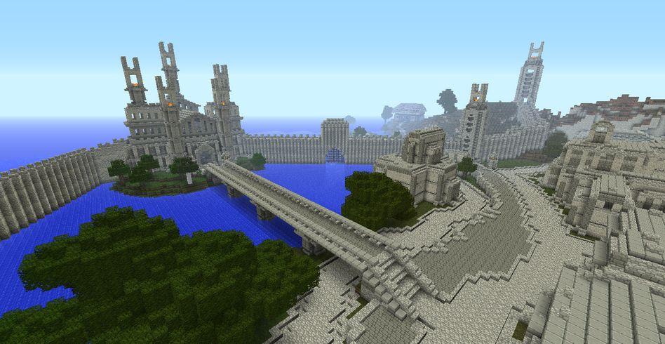 """Screenshot """"Minecraft"""" Middle Earth: Keine inhaltlichen Veränderungen geplant"""