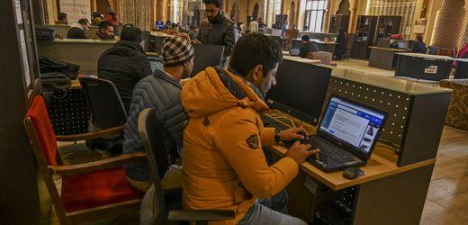 Indien: Region Kaschmir hat wieder Internet – ein bisschen
