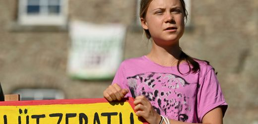 Greta Thunberg im Braunkohlerevier: »Ein Ort voller Traurigkeit«