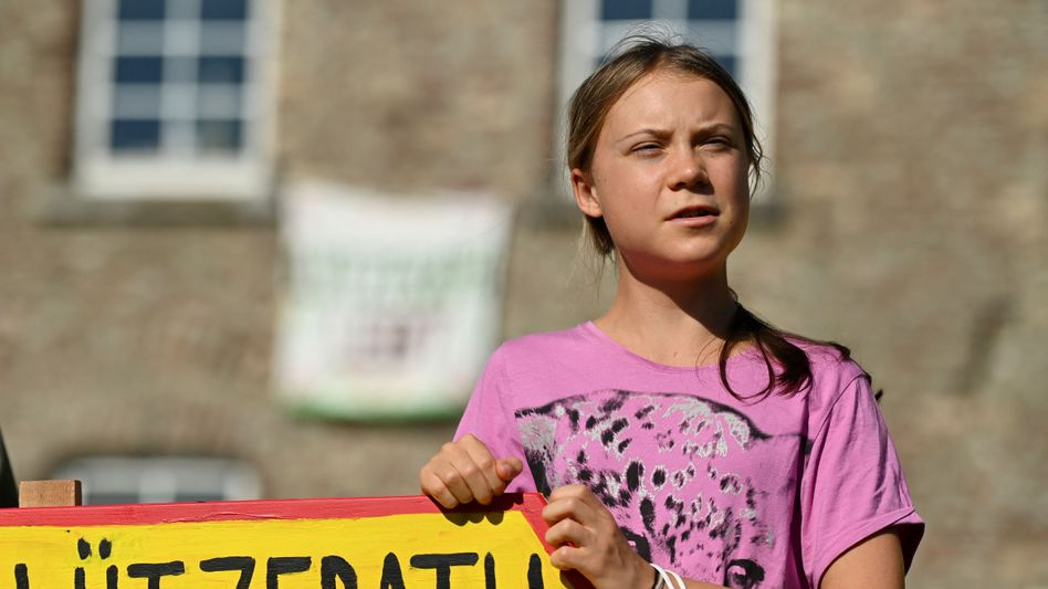 Klimaaktivistin Thunberg im rheinischen Braunkohlerevier: »So etwas sollte nicht passieren«