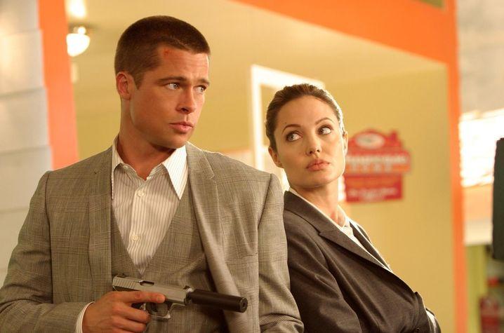 """Gib mir Rückendeckung, Darling: Pitt und Jolie in """"Mr. und Mrs. Smith"""""""