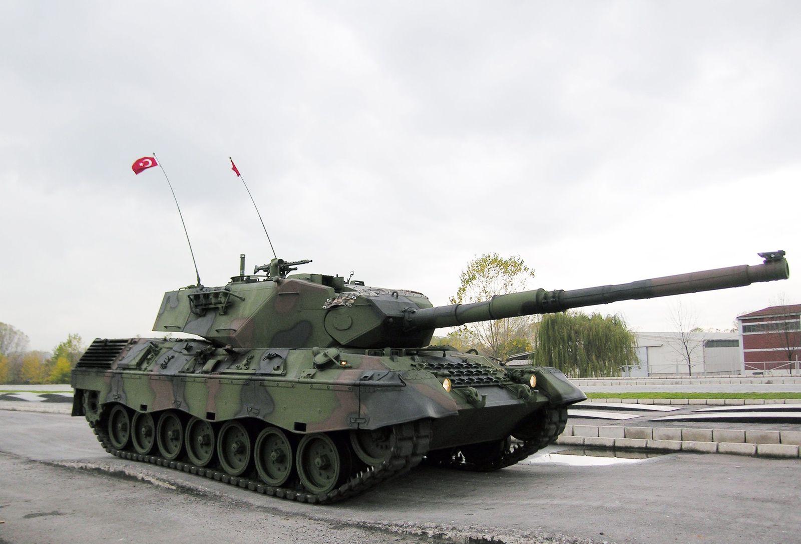 Türkischer Leopardpanzer