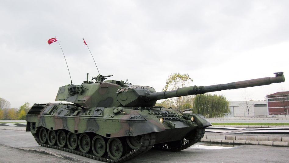 Türkischer Leopard-Panzer (Archiv)