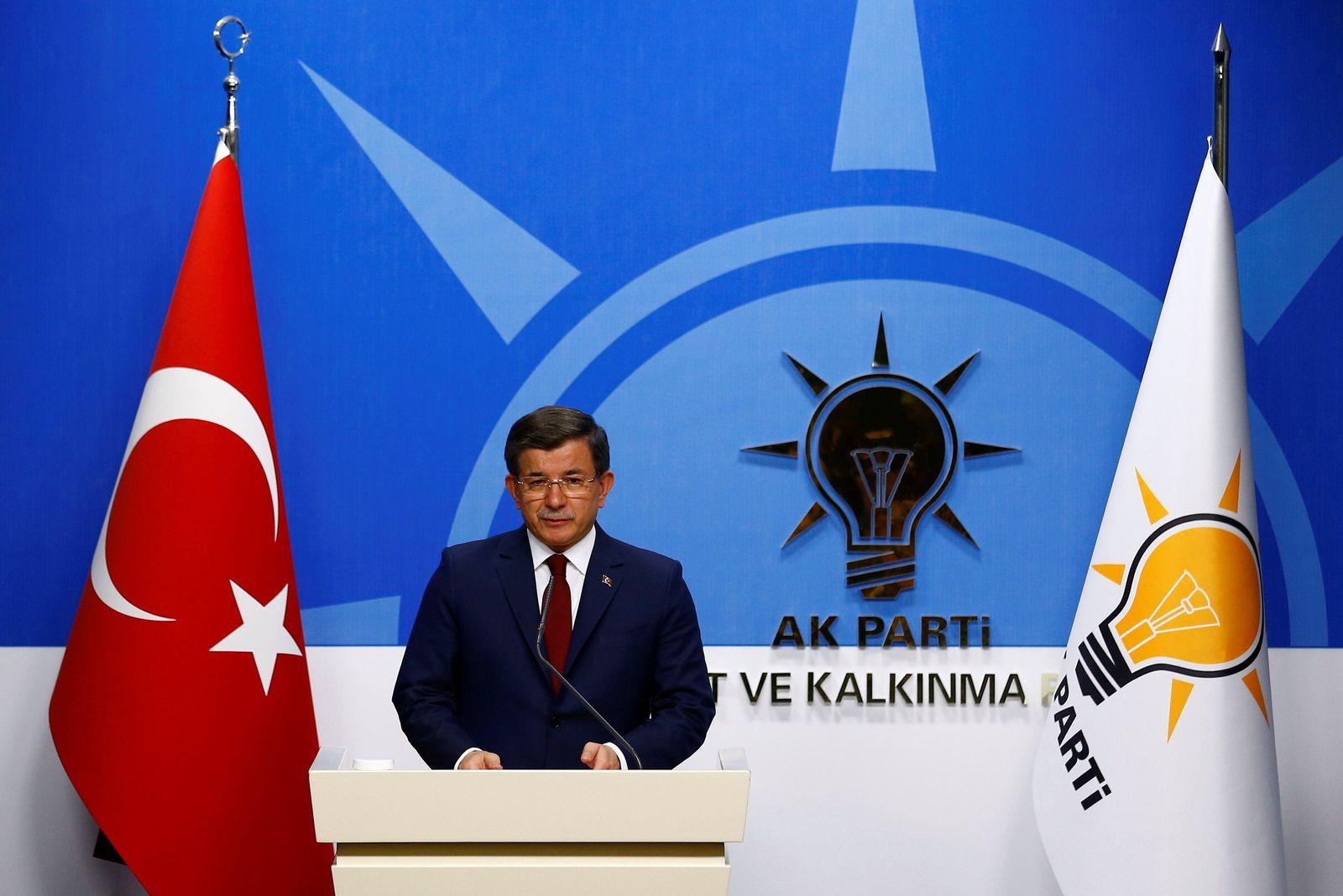Ahmet Davutoglu/ Ankara