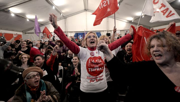 Neues Parlament: Linksruck in Griechenland