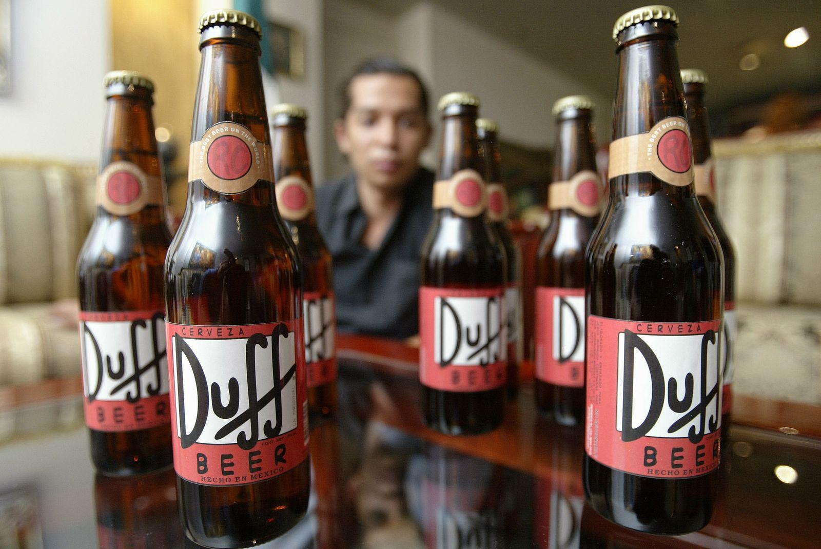 NICHT VERWENDEN Duff Bier