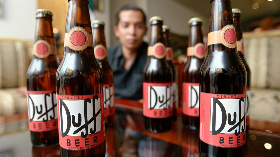 Duff beer in Mexico: Germany's Duff Beer UG lost its battle for the trademark on Thursday.