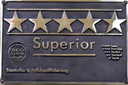 Hotel-Sterne: Nicht selten variieren die Bewertungen