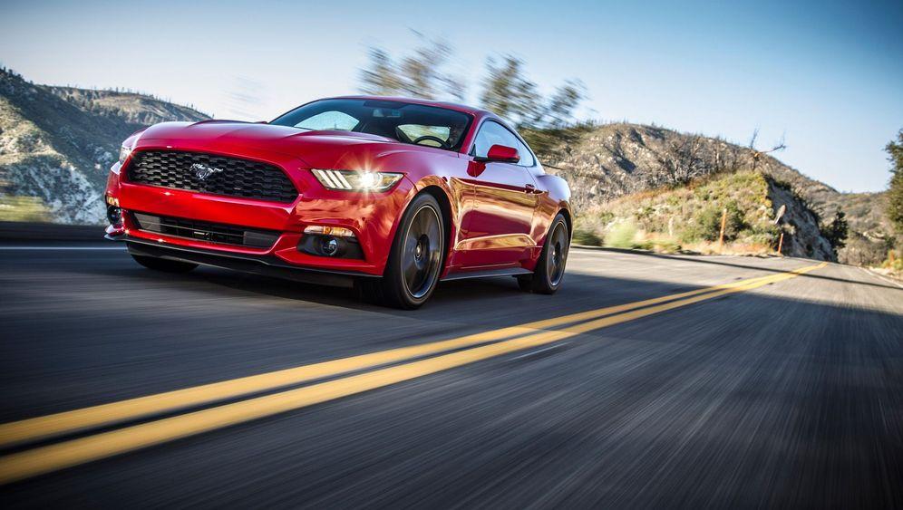 Autogramm Ford Mustang: Deutschland wird zum Ponyhof