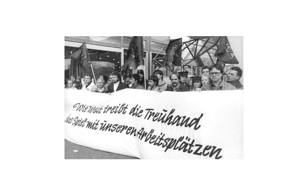 Privatisierung in Ostdeutschland: Jahre der fetten Beute