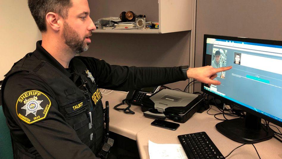 Gesichtserkennungssoftware bei der Polizei