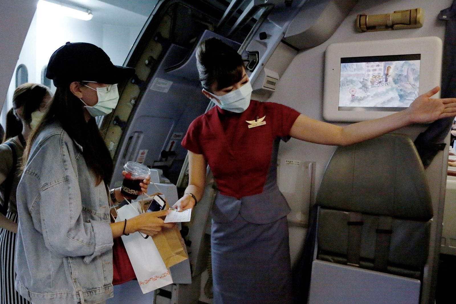 Taipei airport offers 'fake' travel experience for tourists