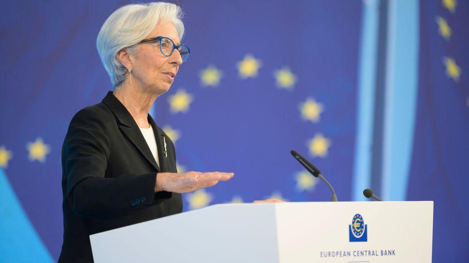 EZB-Chefin Christine Lagarde (Archivbild)