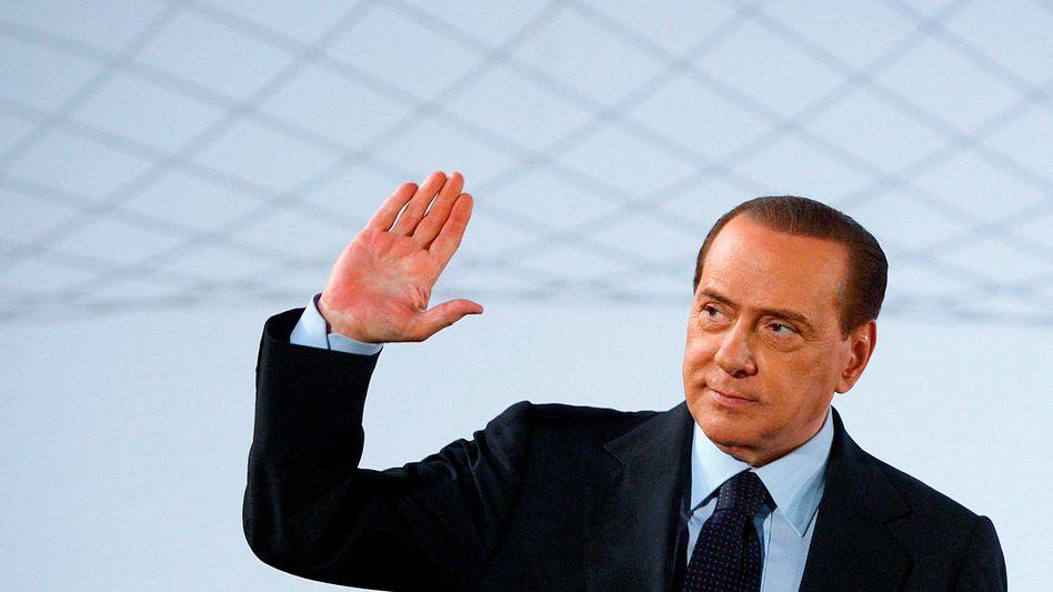 Italiens früherer Regierungschef Berlusconi: Erneute Kandidatur bei der Wahl 2013?