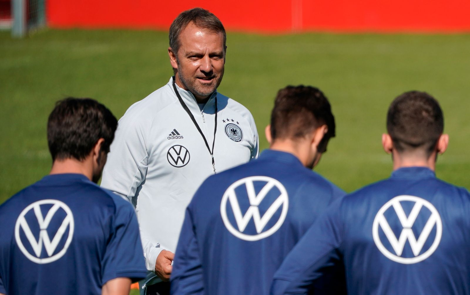 Germany national soccer team training session