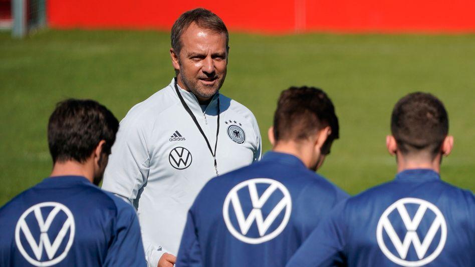 Hansi Flick ist seit August Nachfolger von Joachim Löw in der deutschen Fußball-Nationalelf