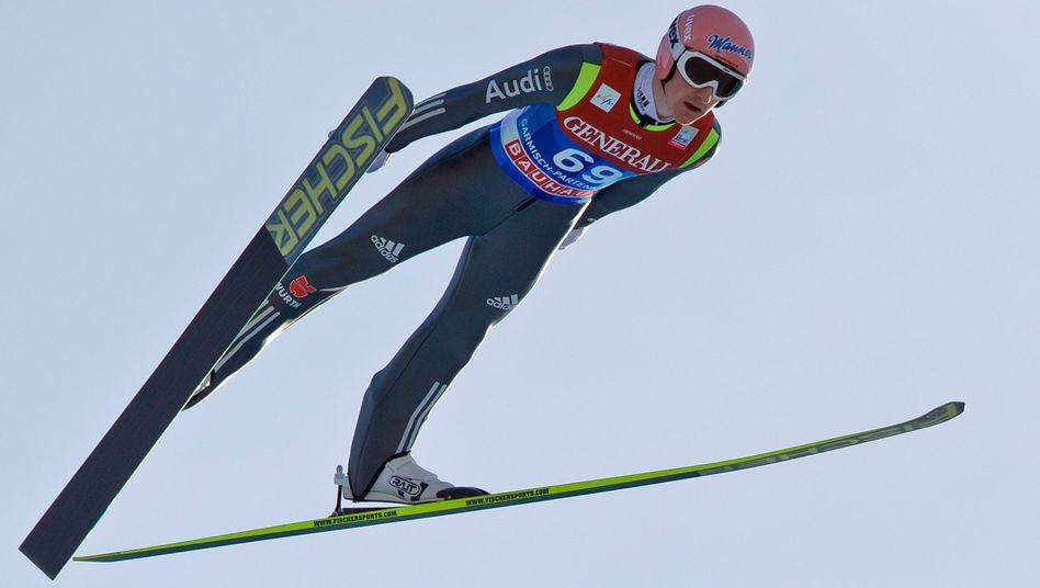 Skispringer Freund: Nur Platz 26 in der Qualifikation von Garmisch-Partenkirchen
