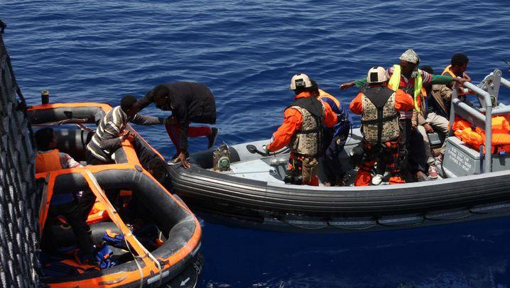 """Fregatten """"Hessen"""" und """"Berlin"""": Der Einsatz der Marine auf dem Mittelmeer"""