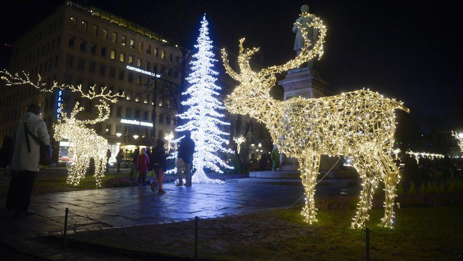 Weihnachtszeit in Helsinki