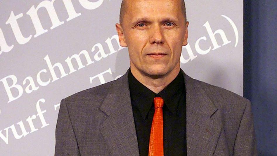 """Georg Klein (hier beim Bachmann-Preis 2000): Sieg für den """"Roman unserer Kindheit"""""""
