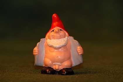 A bad little gnome.