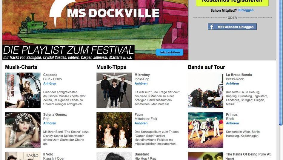 MySpace-Website: Niedergang eines Netzwerks