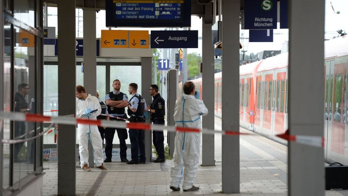 Messerattacke an S-Bahnhof: Der Angriff von Grafing