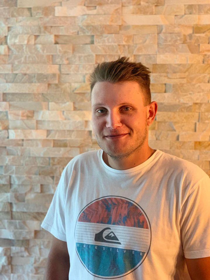 Andreas E. im Herbst 2019: Er meldete sich bei Tinder an, doch kam über die Trennung nicht hinweg