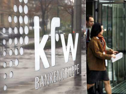 KfW-Zentrale (in Frankfurt): Überschaubare Nachfrage nach dem Studienkredit