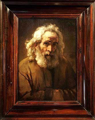 """""""Studie eines alten Mannes mit Bart"""": Das Gemälde wurde als echt identifiziert"""