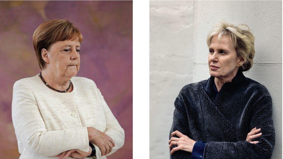 """Merkel, Hustvedt: """"Es kann immer wieder kommen"""""""