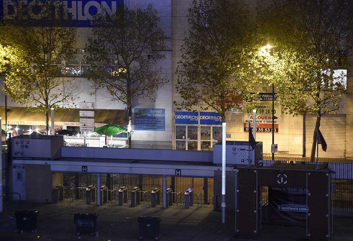 Eingangstore am Stade de France