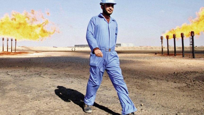 Ölfeld im Irak