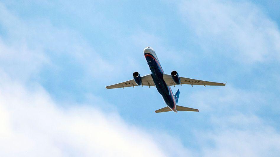 Im Rahmen des Open-Skies-Vertrages möglich: ein russisches Militärflugzeug über Nebraska, USA