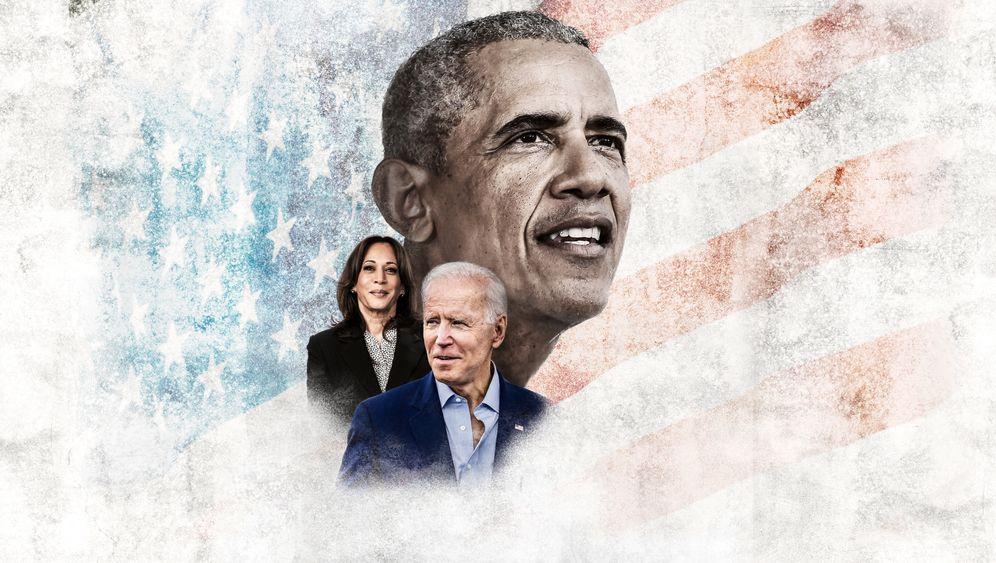 Im Schatten von Barack Obama: Joe Biden und Kamala Harris