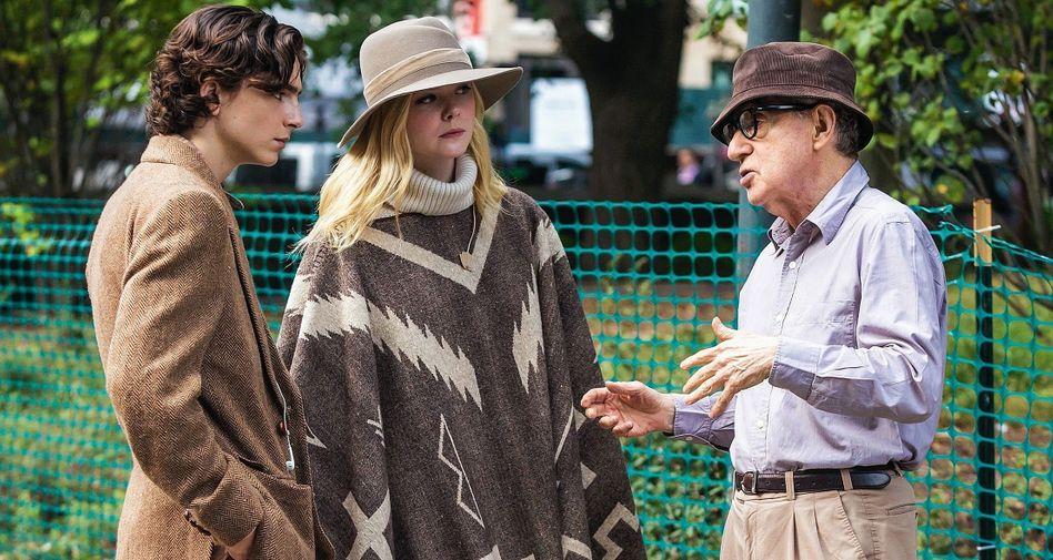 Darsteller Chalamet, Elle Fanning, Regisseur Allen: Auf der Suche nach sich selbst und dem richtigen Mädchen sowieso